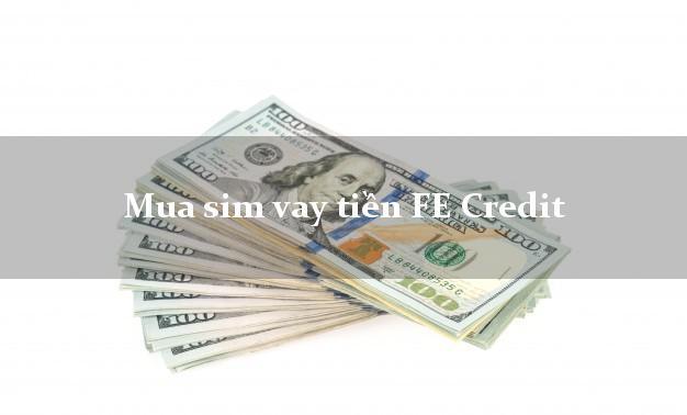 Mua sim vay tiền FE Credit