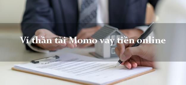 Ví thần tài Momo vay tiền online