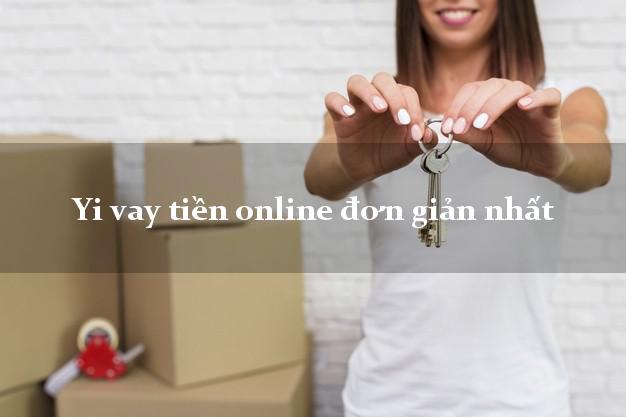 Yi vay tiền online đơn giản nhất