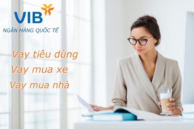 Hướng dẫn vay tiền VIB trực tuyến
