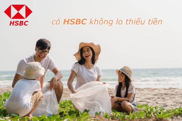 Hướng dẫn vay tiền HSBC trả góp