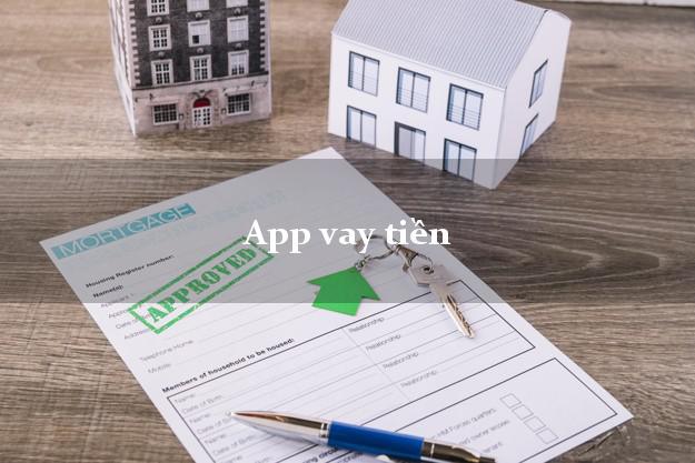 App vay tiền hỗ trợ nợ xấu